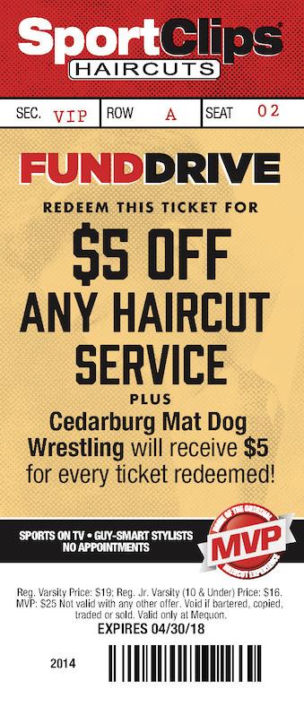 Sportsclips Coupon Cedarburg Wrestling